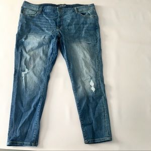 Universal Threads distressed skinny  jeans
